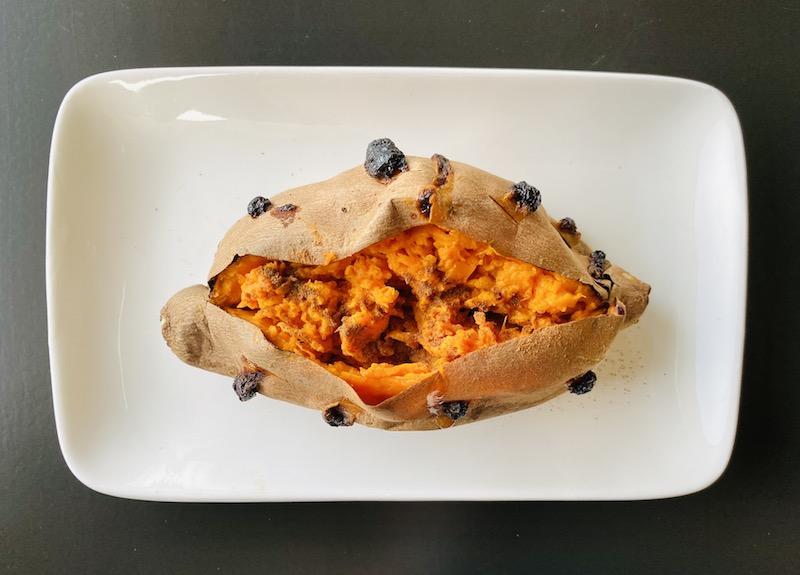 healthy ways to eat potato - baked sweet potato