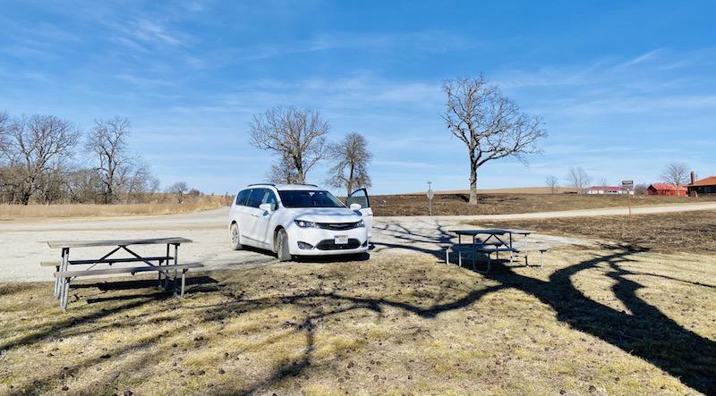 Prairie Earth Trail tallgrass prairie preserve parking