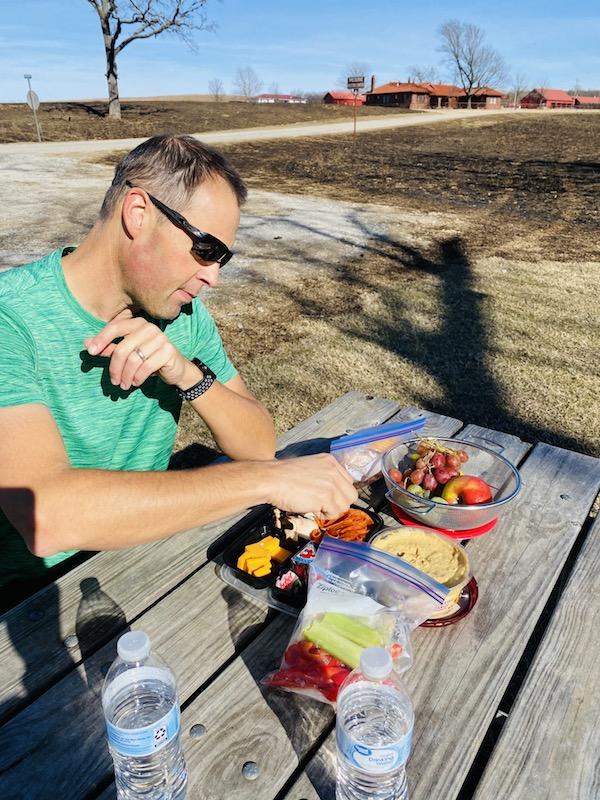 picnic at prairie earth trail