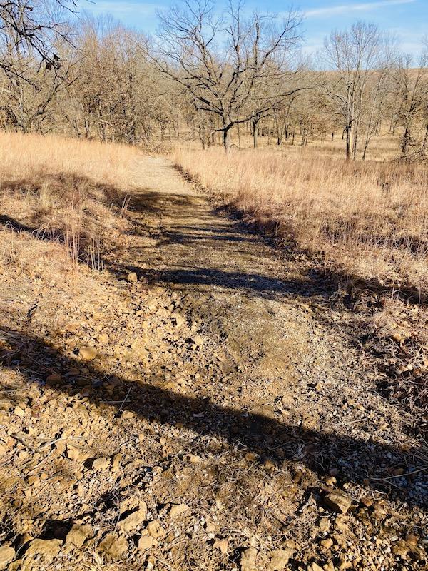 prairie earth trail rocky trail