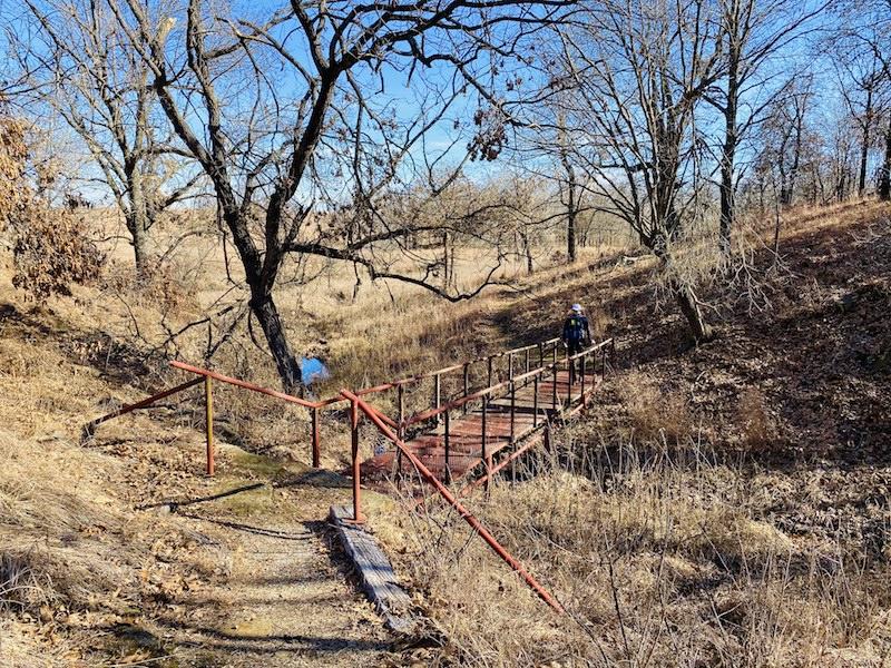 prairie earth trail bridge