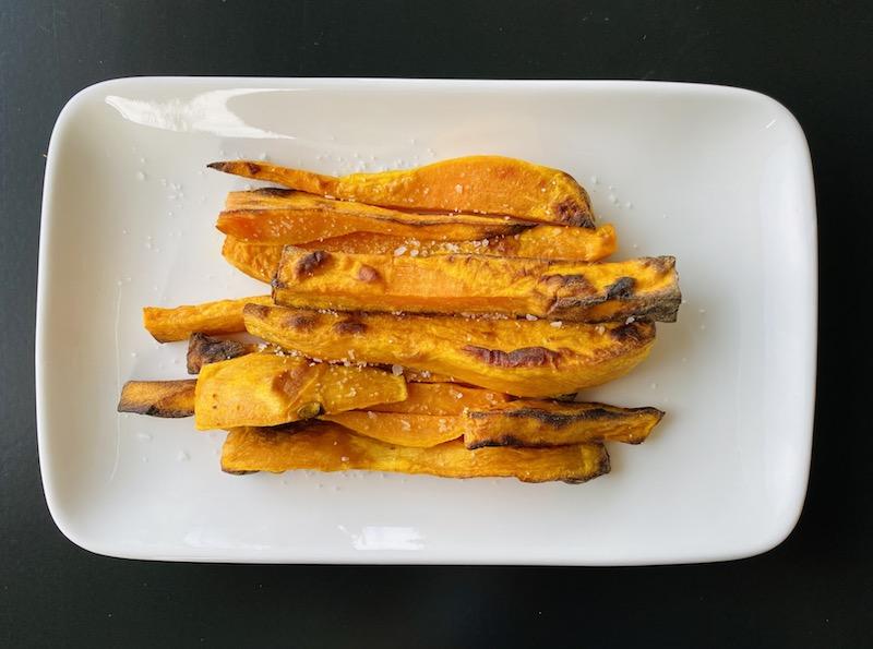 healthy ways to eat potato - sweet potato fries air fryer
