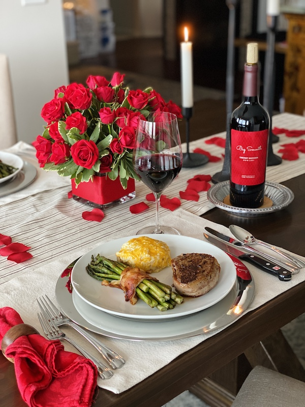 romantic valentine's day at home Sweetheart Dinner