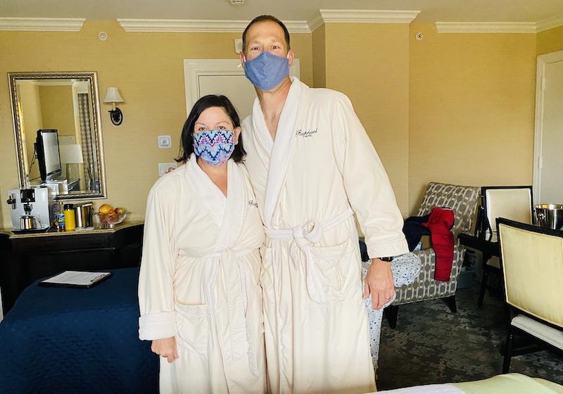 massage at Raphael Hotel Kansas City