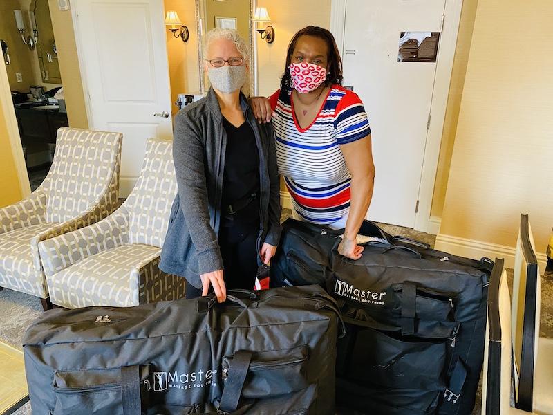 in room massage at Raphael Hotel Kansas City
