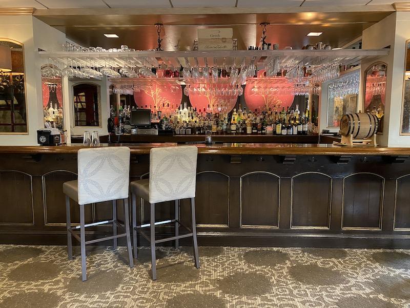 bar at Chaz on the plaza Raphael Hotel Kansas City