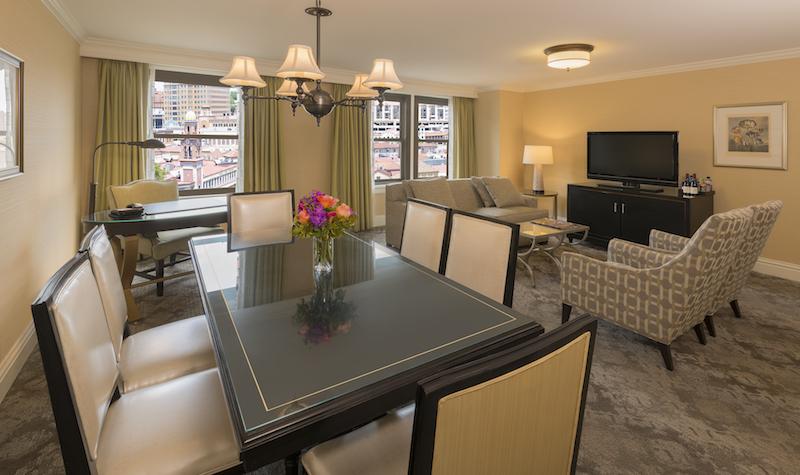 room at Raphael hotel
