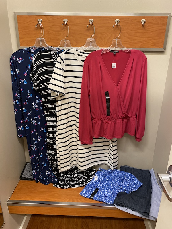 Selection of outfits