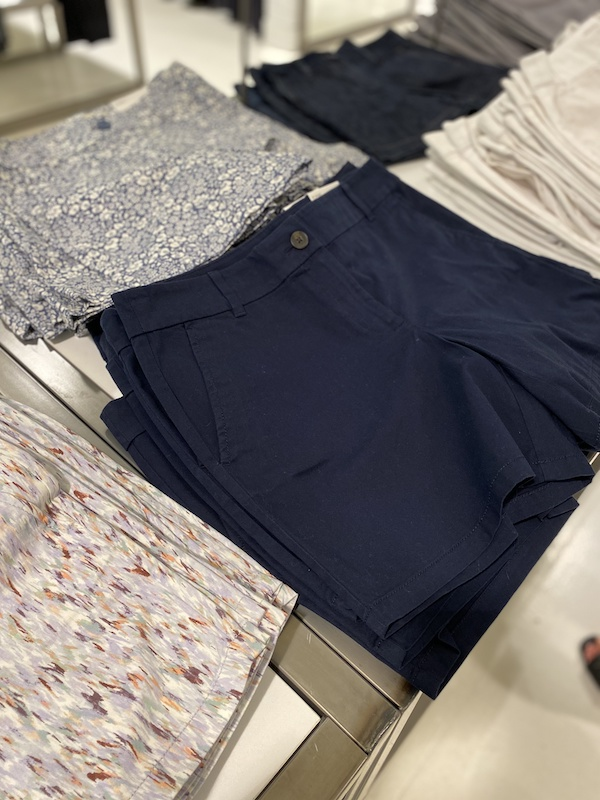 Selection of shorts