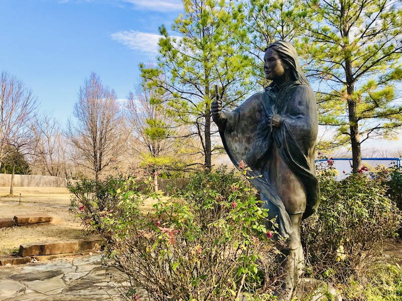 Things to do outdoors in Pawhuska Blessed Kateri