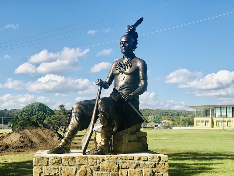 Things to do outdoors in Pawhuska find a bronze