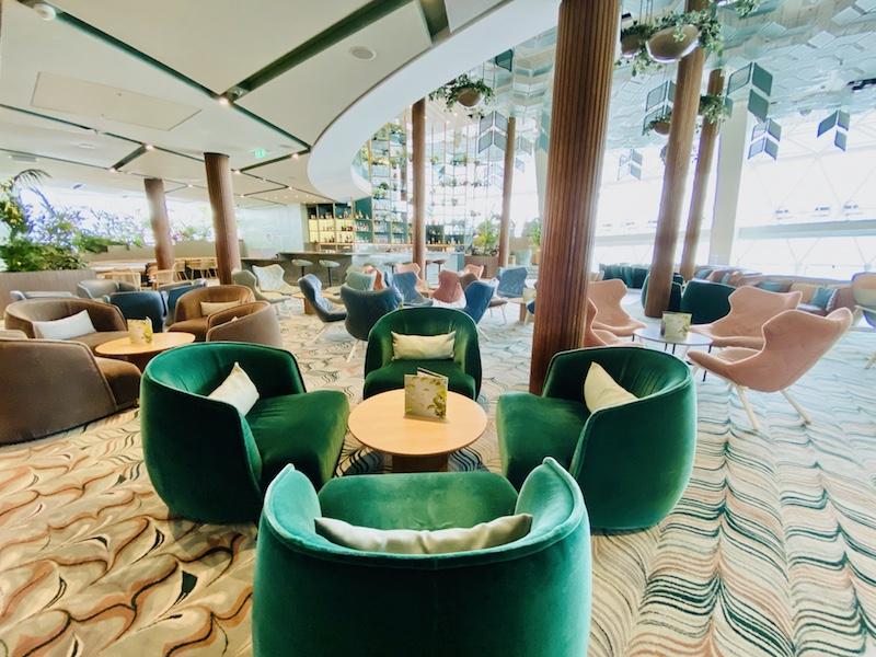 Eden Lounge aboard the Celebrity Edge