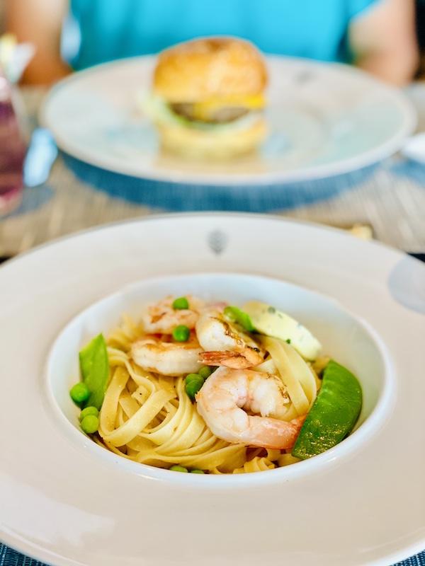 shrimp on postcard jar cruise