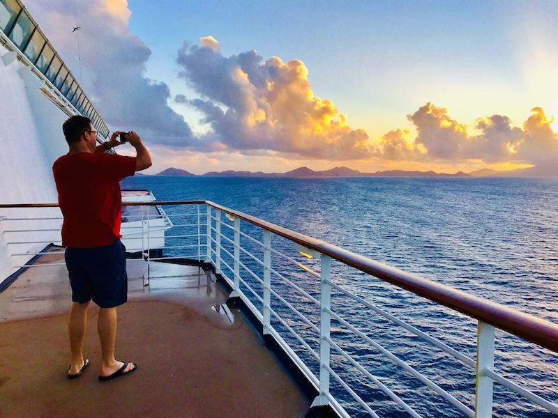 sunrise on friends of postcard jar cruise