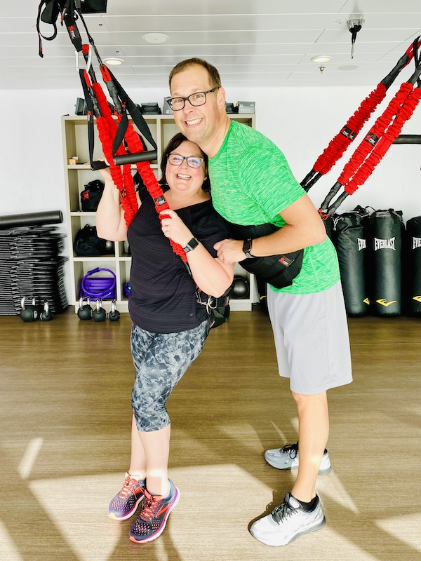 avoid gaining weight on a cruise bungee gym
