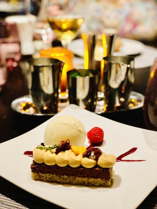 indulge in dessert