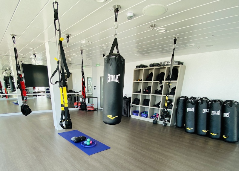 avoid gaining weight on a cruise fitness center
